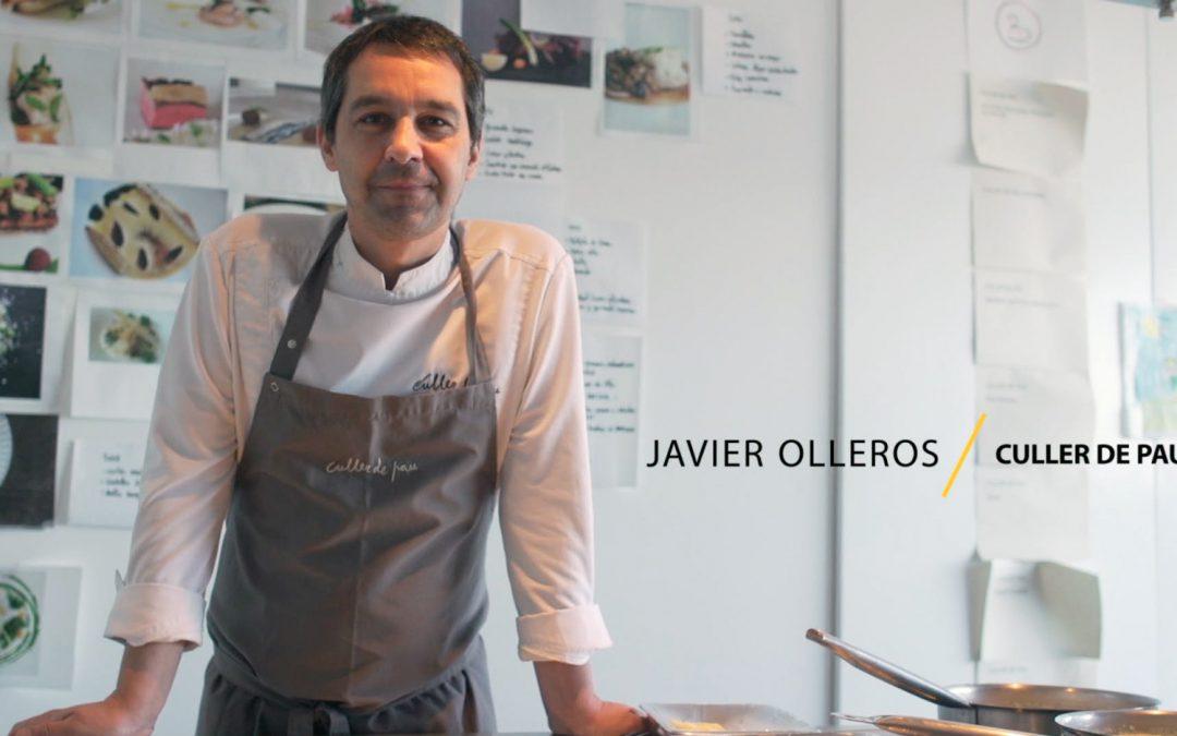 Lomos de bacalao con setas de temporada y hierbas frescas, por Javier Olleros