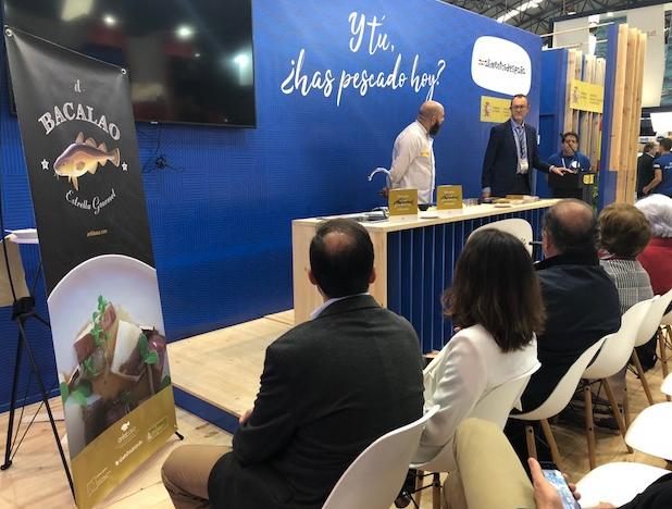Showcooking y degustación de Bacalao de ANFABASA en CONXEMAR