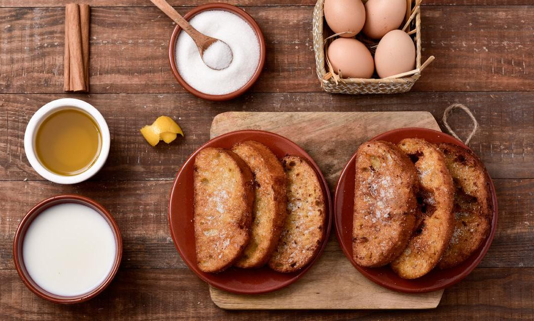 Diccionario gastronómico de los platos típicos en Semana Santa