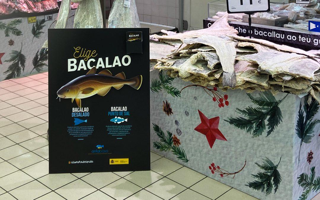 El bacalao y salazones presentes en diferentes puntos de venta