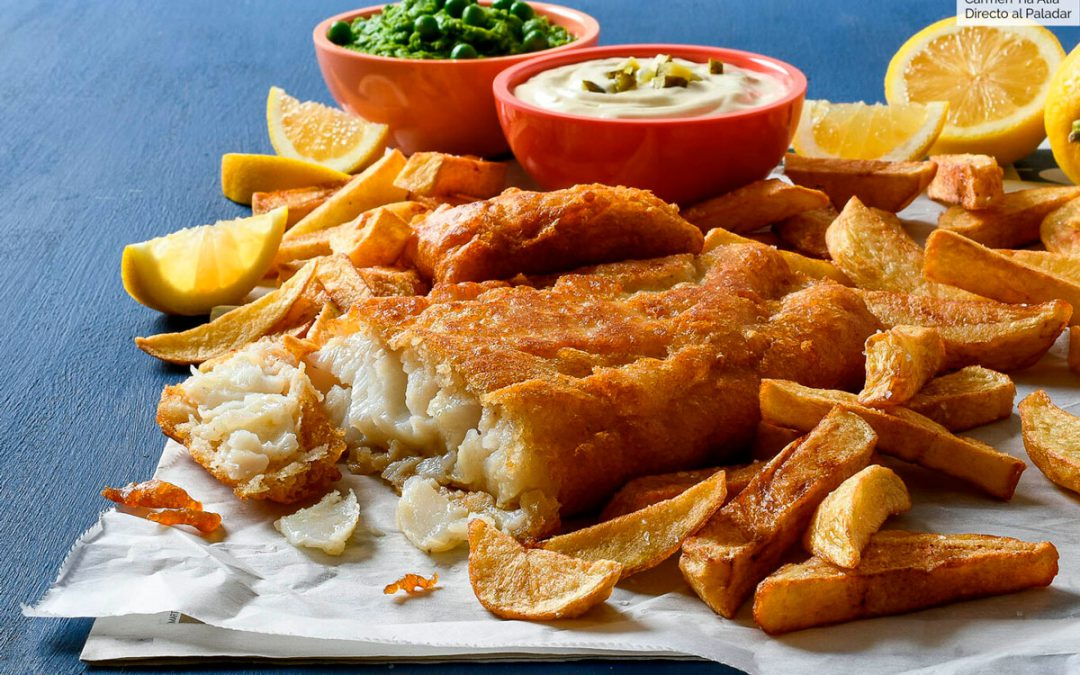 Fish and Chips de bacalao: trucos y receta